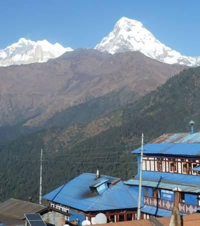 View from Ghorepani (2,750m)
