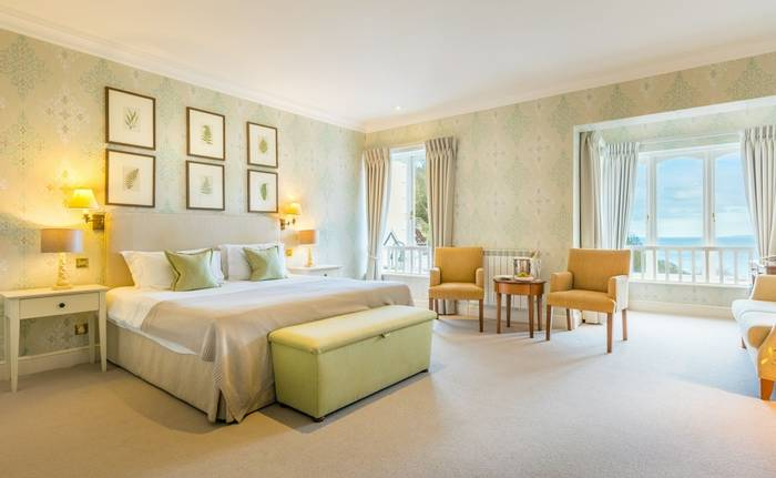 Guernsey Hotel Room
