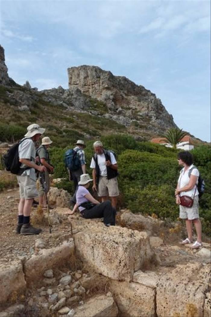 David Tattersfield and the Naturetrek group
