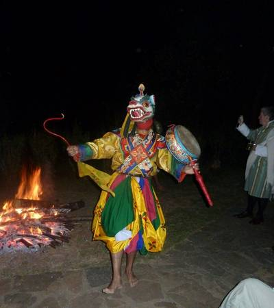 Bhutanese dancing