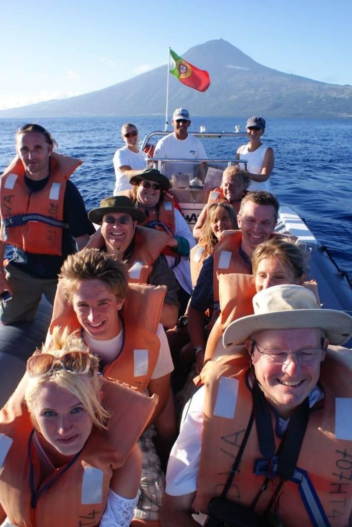 Naturetrek group off Pico (Ed Drewitt)