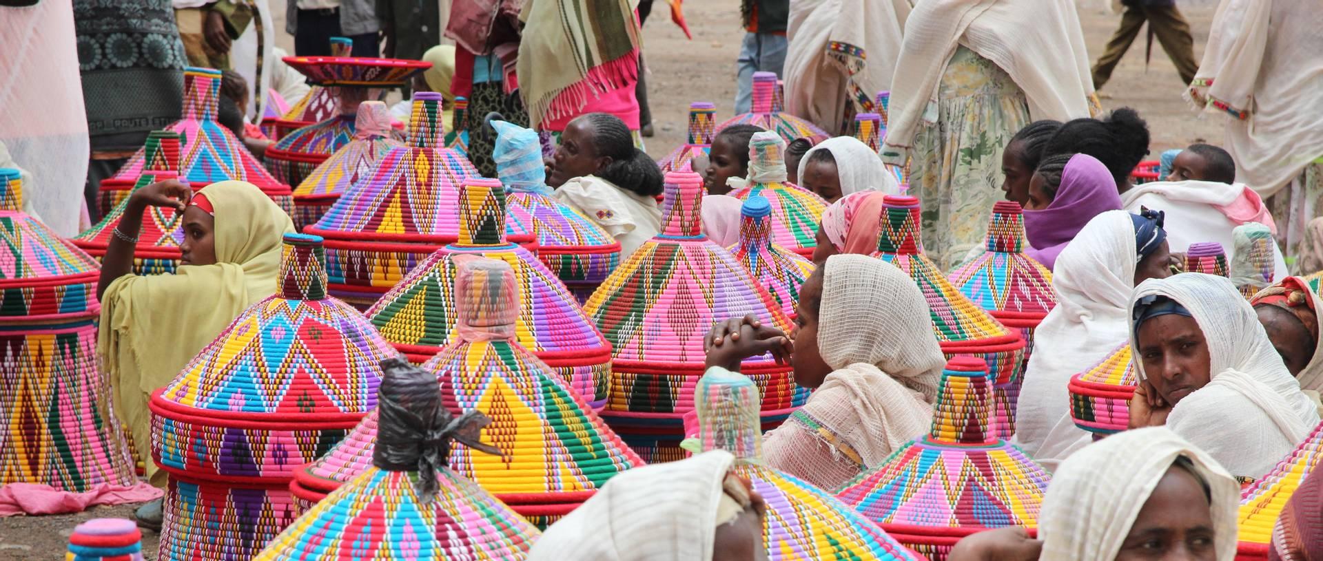 Basket Market   Axum