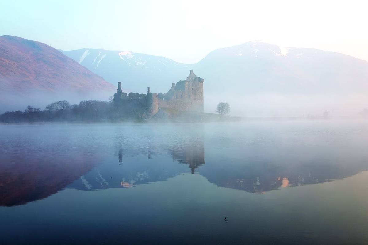 Kilchurn castle,Scotland