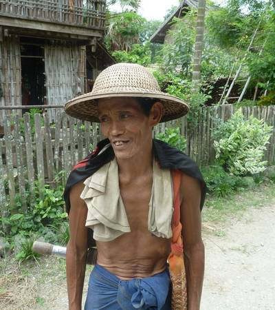 Local man in Chin state