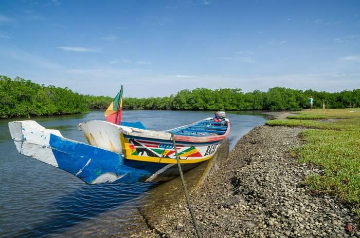 Sine Saloum Delta fishing boat, Senegal shutterstock_1101363200.jpg