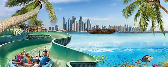 Dubai Discovery: Aqua-Adventures & City Tour Package