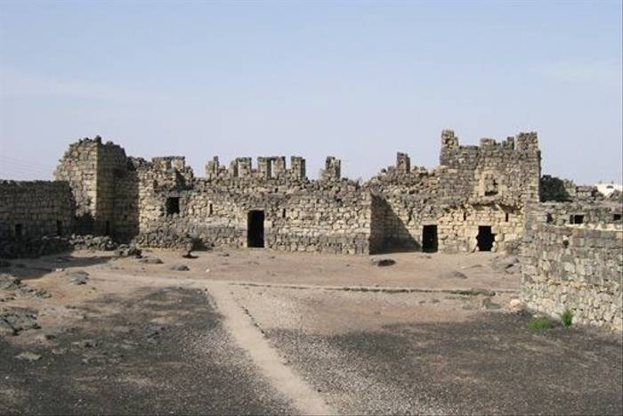 Roman Basalt Fort at Azraq (Geoff Carr)