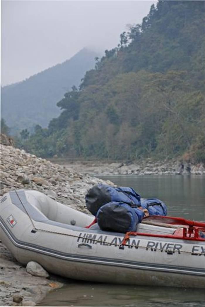 Taking a break from rafting (Thomas Mills)