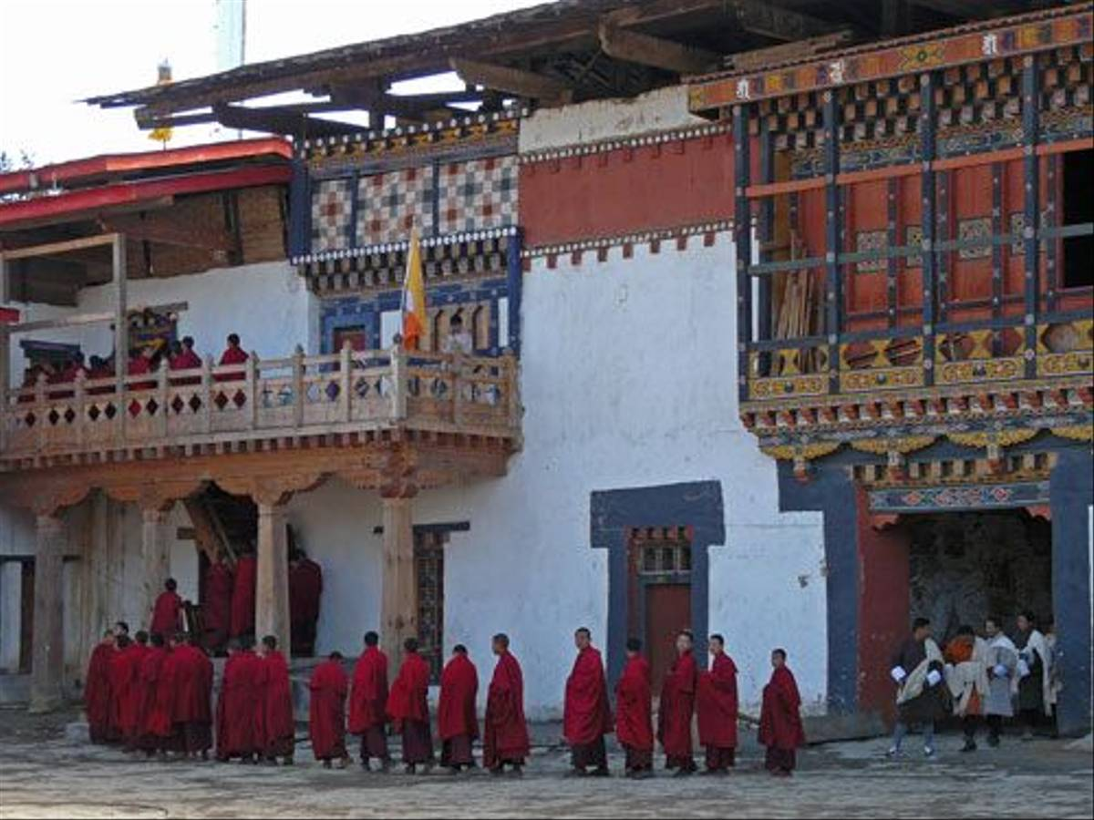 Gompa Monastery (Michael Ball)