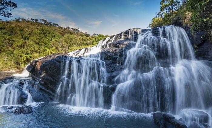 Waterfall At Horton Plains NP (John Archer Thomson)