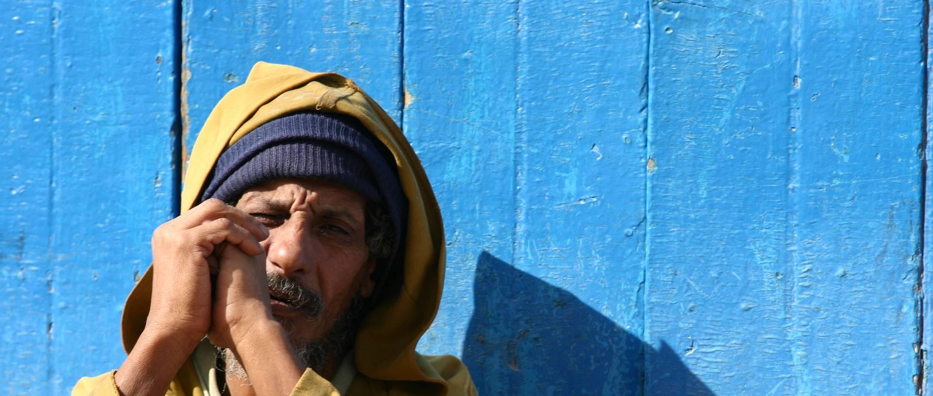 Man In Morrocco