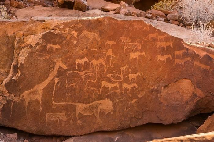 Twyfelfontein Rock Art, Namibia