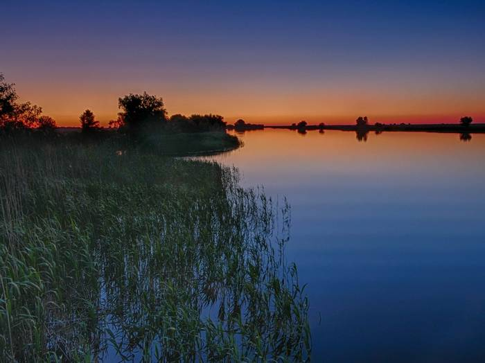 Sunset on the Danube Delta (Ian Tulloch)