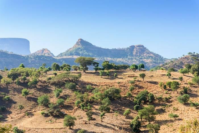 Simien Mountains Ethiopia Shutterstock 252628636