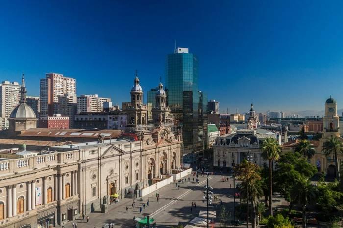 Plaza De Las Armas Square In Santiago, Chile Shutterstock 289505219