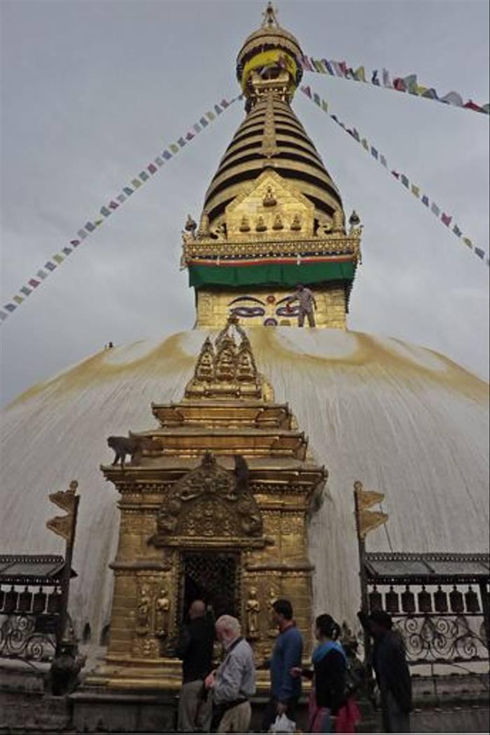 Swyambunath Stupa, Kathmandu