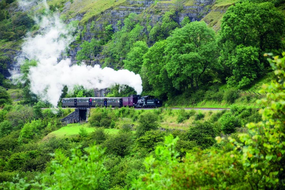 Brecon Mountain Railway,Wales,UK
