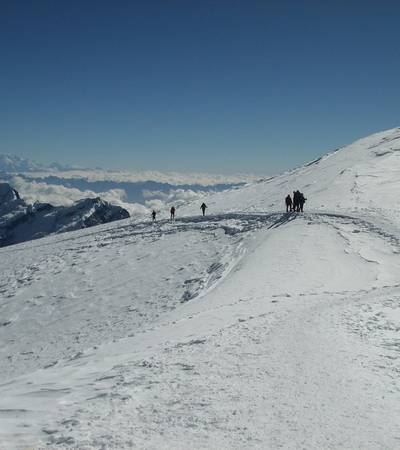 Approach to Mera Peak summit