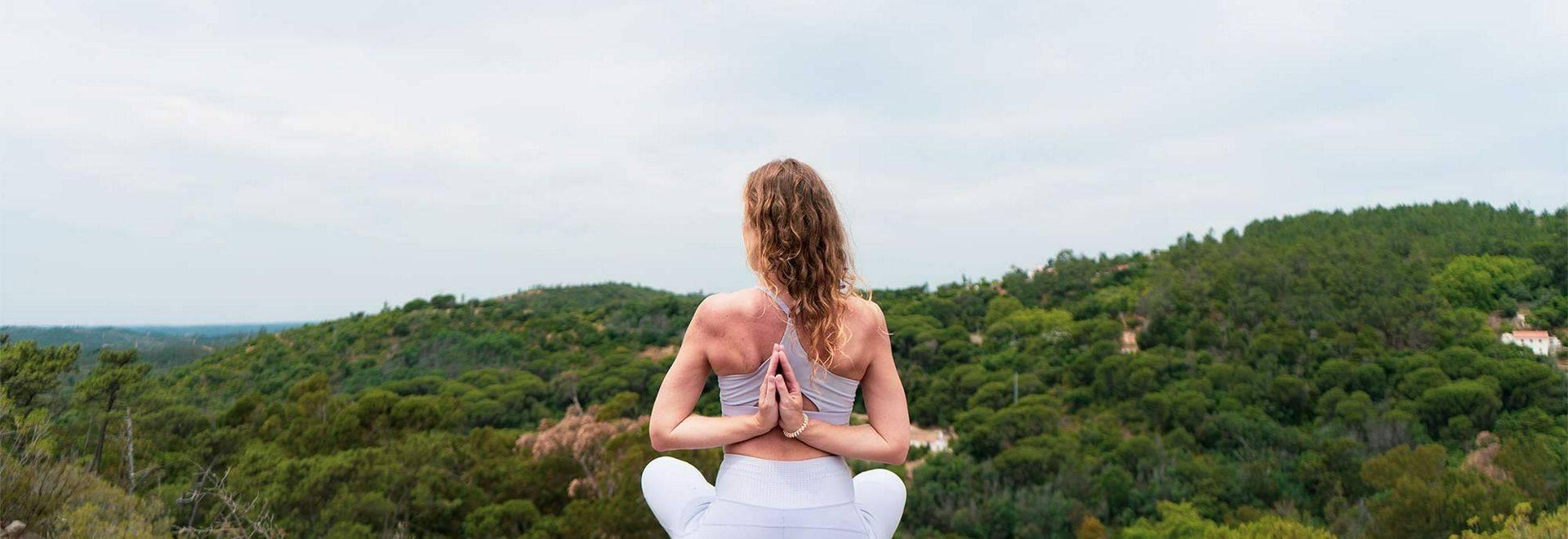 Macdonald Monchique Yoga Pose