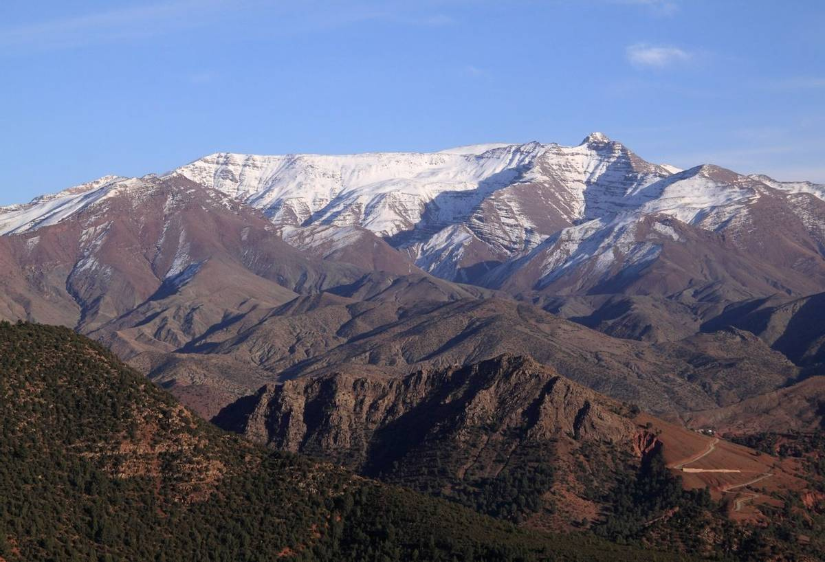 High Atlas, Morocco Shutterstock 99135293