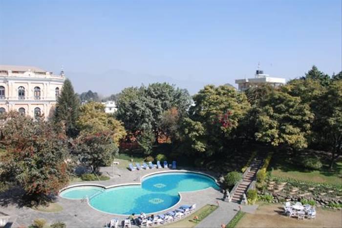 Yak and Yeti Hotel and gardens