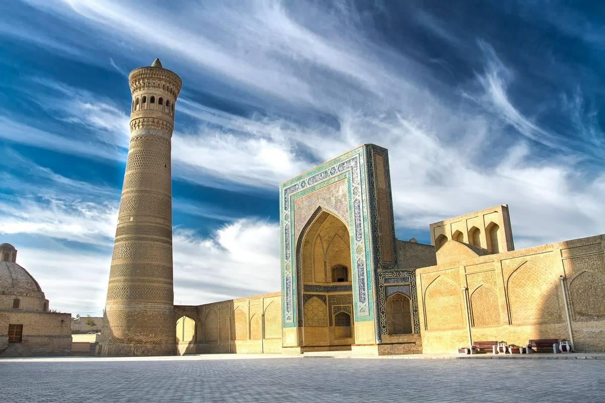 Kalyan Minaret And Mosque, Bukhara, Uzbekistan Shutterstock 537704689