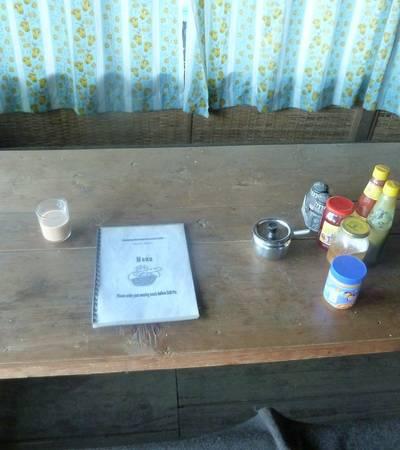 Menu at Bayeli Community lodge