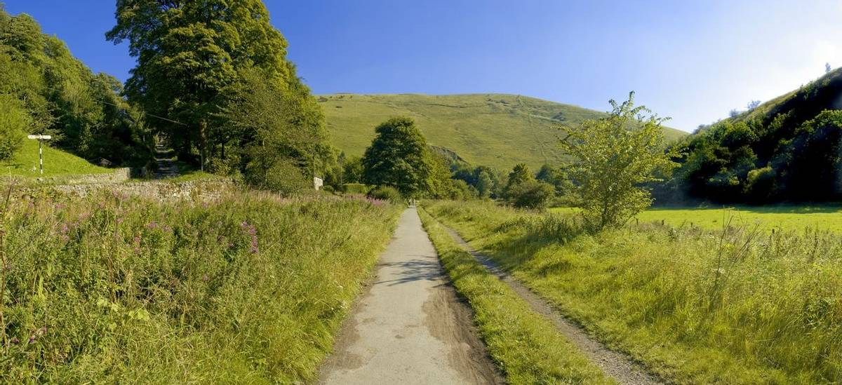 valley of the river manifold the manifold trail cycleway and footpath the peak district national park staffordshire midlands…