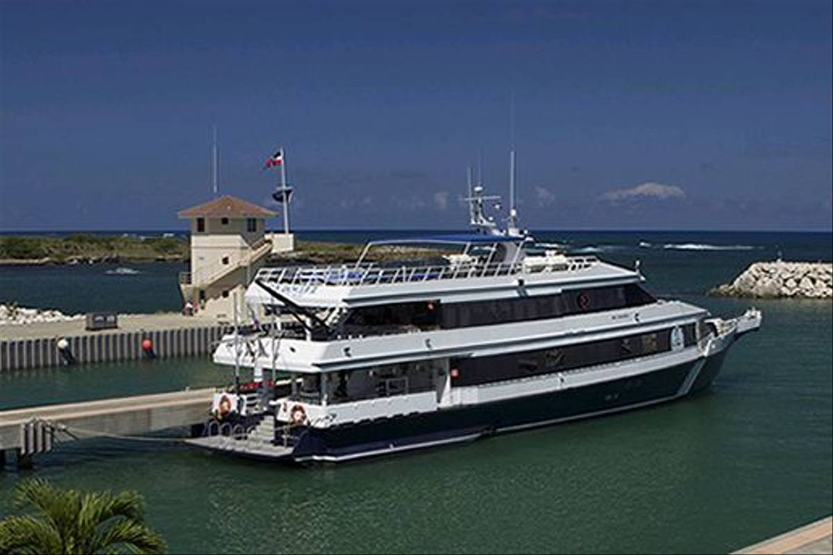 Our vessel for the cruise, the MV Sun Dancer II