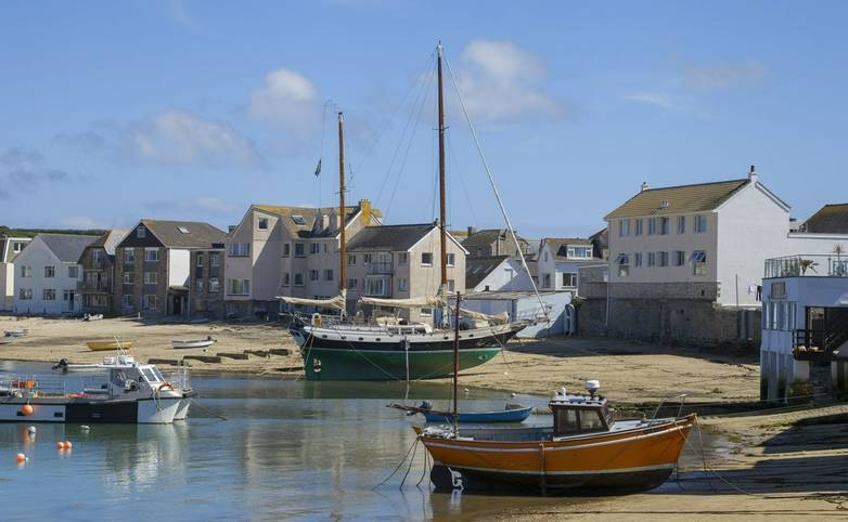 St Mary's Harbour, St Mary's, Isles of Scilly, England