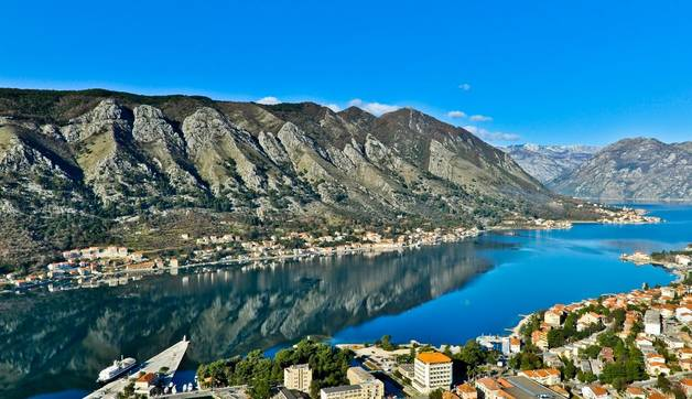 Shutterstock 205348297 Kotor Bay And Old Town View, Montenegro