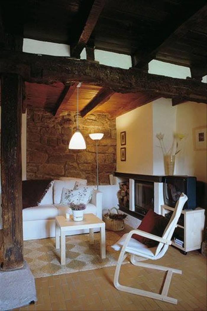 The lounge area of Caso del Arco