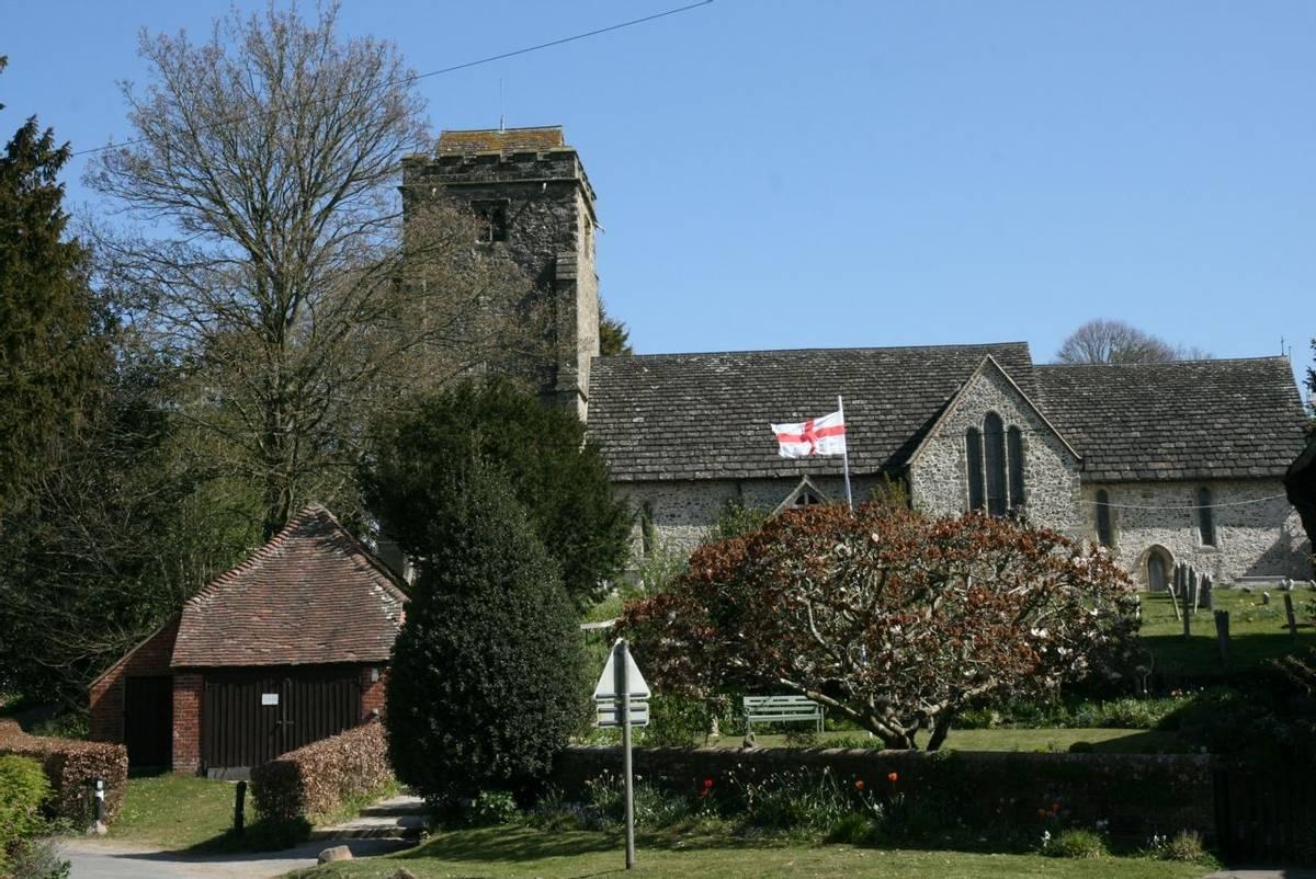 Church in Thakeham.JPG