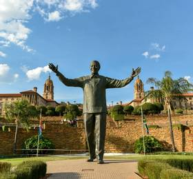 Pretoria - Disembark Blue Train & Hotel Stay
