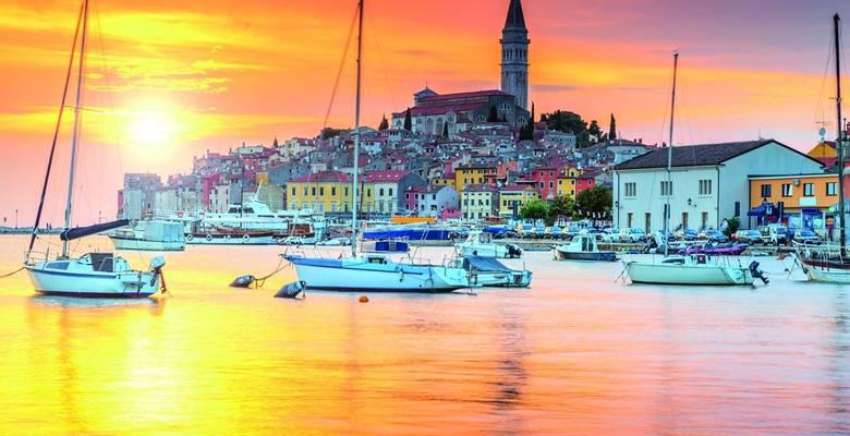 Istria guided walking holiday, Croatia