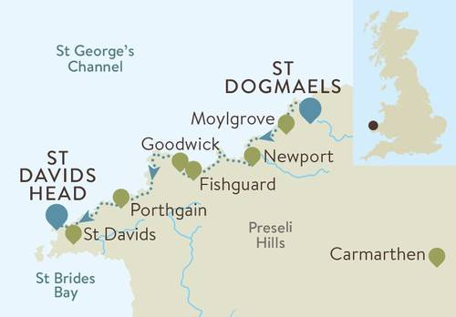 Pembrokeshire Coast Map
