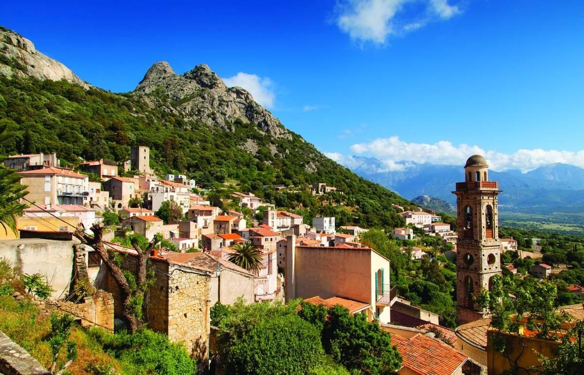 village de Lumio-Corse