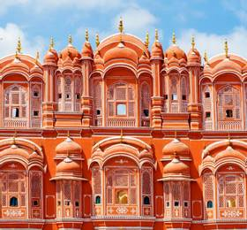 Visit the 'Pink City'