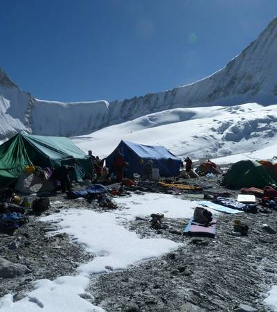 Upper Baruntse Base Camp