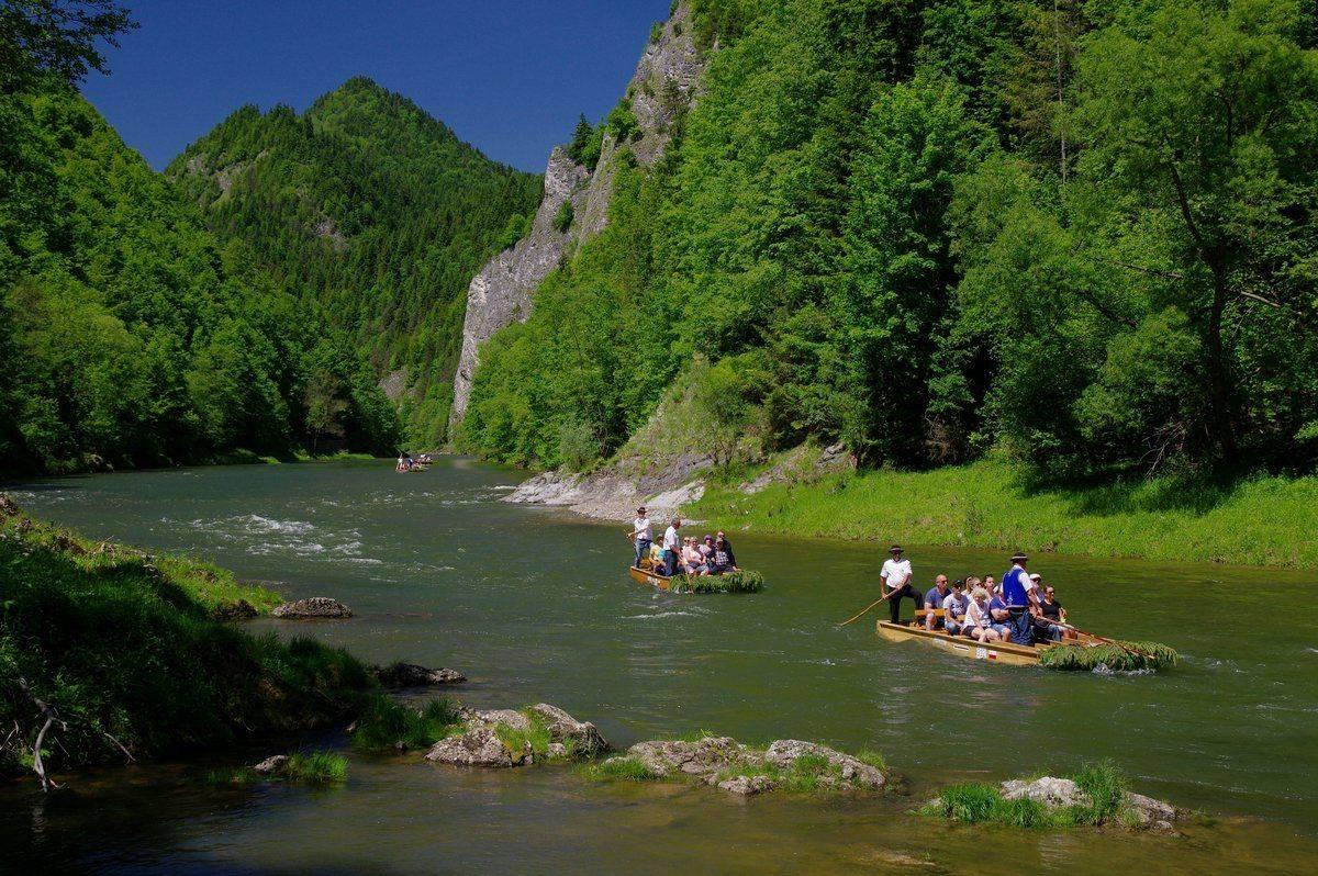 SLOVAKIA Dunajec river rafting Pieniny National Park.JPG