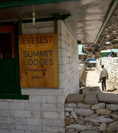 Everest Summit Lodge in Pangboche