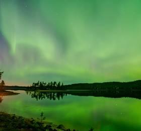 Inari village and Aurora Watch