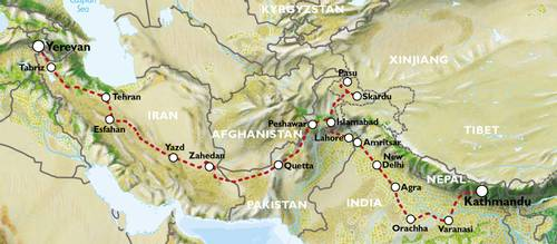 EXPLORATORY - KATHMANDU to YEREVAN (52 days) - Ultimate Asia Overland