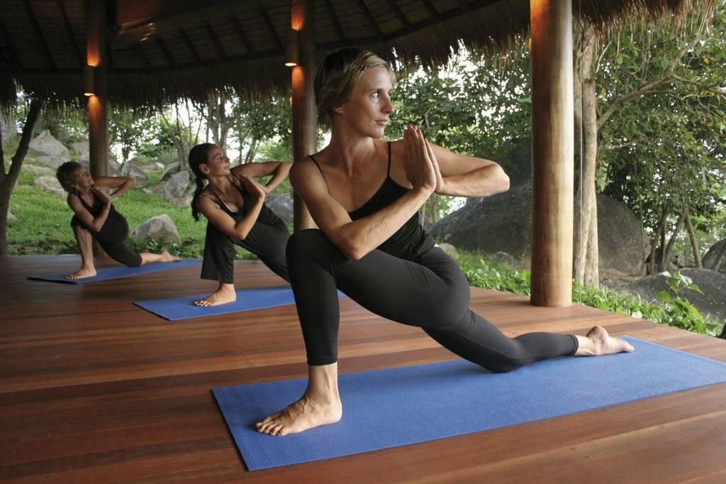 Get flowing with Vinyasa yoga at Kamalaya
