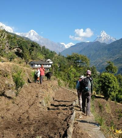 Trail to Ghandruk
