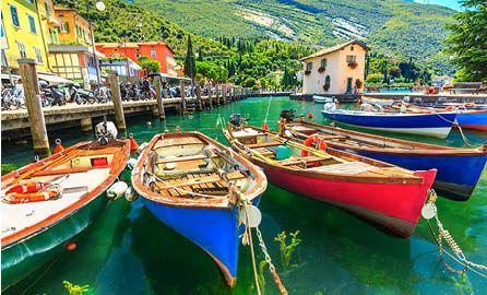 Day 10   Italy   Lake Garda   Boats