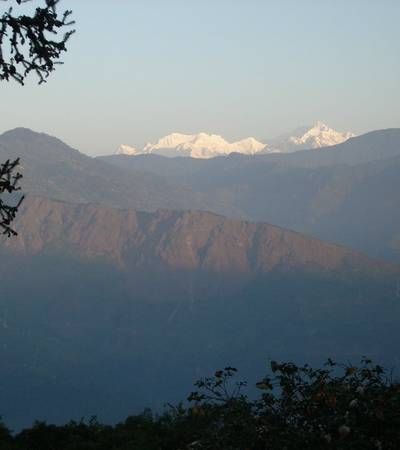 View of Makalu