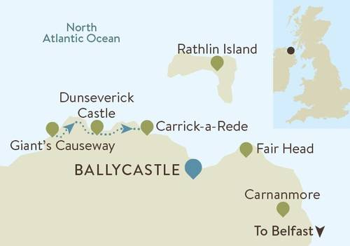 Causeway Coast Map