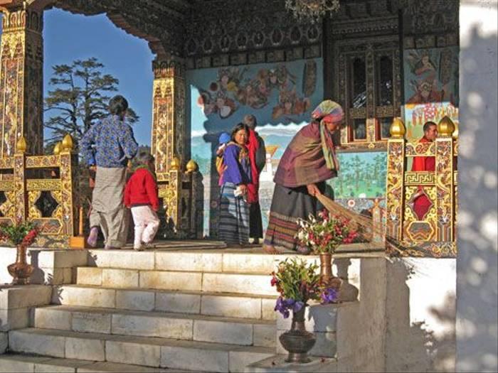 Buddhist Monastery (Wendy Ball)