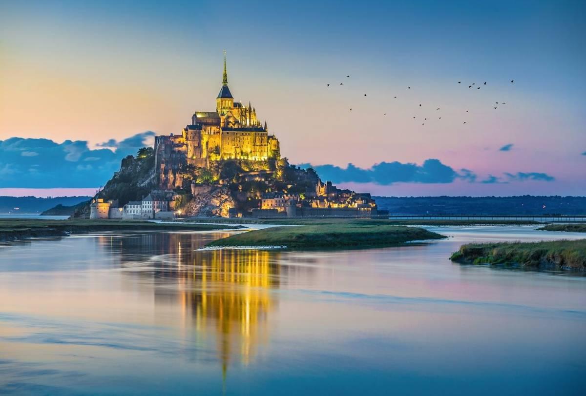 Mont St. Michel, France Shutterstock 414453013